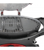 Triple Grill Reversible Small Hotplate