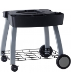 Twin Grill Mobile Cart
